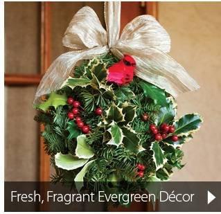 Fresh, Fragrant Evergreen Decor