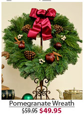 Pomegranate Wreath NOW $49.95